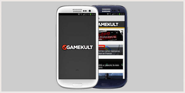Gamekult - Android Application-Projet